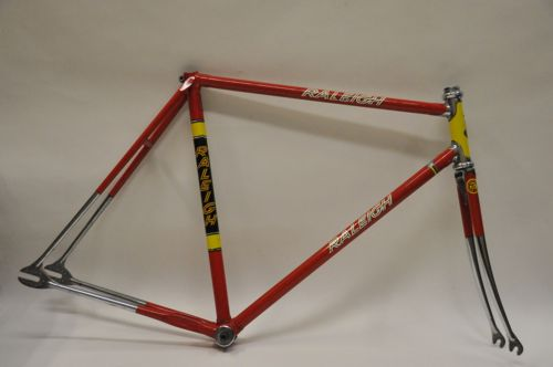 TI-Raleigh, Worksop-built track frame